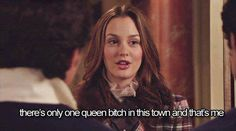 "But no one can take away her title of Queen. 31 Reasons Blair Waldorf From ""Gossip Girl"" Is The Real Queen B Gossip Girl Blair, Gossip Girls, Gossip Girl Quotes, Gossip Girl Funny, Blair Quotes, Blair Waldorf Quotes, Tv Quotes, Movie Quotes, Real Queens"