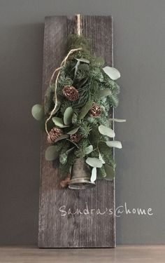 Christmas Bells, Rustic Christmas, Christmas Photos, Christmas 2019, Christmas Crafts, Christmas Decorations, Holiday Decor, Flower Quotes, Diy Weihnachten