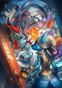 maskedkitsune: Pokemon : Trick or Treat! by Sa-Dui