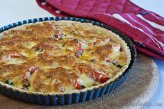 Gluten-Free & Low FODMAP Basil & Tomato Tart