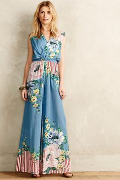 Floristry Jumpsuit #anthropologie #anthrofave