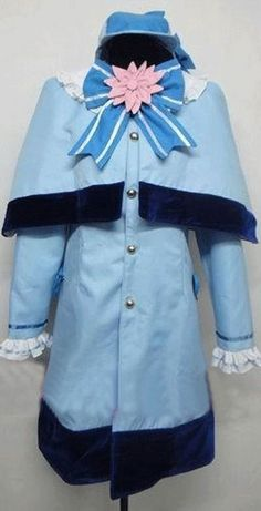Relaxcos Tantei Opera Milky Holmes Cordelia Glauca Cosplay Costume -- Click image for more details.