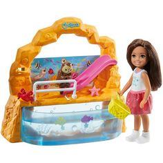 Check out Barbie Club Chelsea Doll and Playset featuring storytelling pieces. Explore the world of Chelsea at our Barbie shop today! Mattel Barbie, Barbie Shop, Barbies Dolls, Barbie And Ken, Club Chelsea, Chelsea Doll, Aquarium, Barbie Online, Barbie Playsets