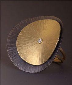 Seashell Ring Maria Samora Sterling Silver