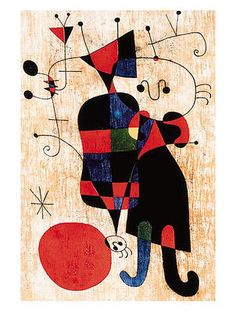 Leute und Hund by Joan Miro Spanish Painters, Spanish Artists, Joan Miro Pinturas, Miro Artist, Joan Miro Paintings, 1 Tattoo, Original Art For Sale, Art For Art Sake, Kandinsky