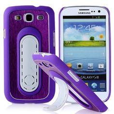 SIII Bend Stand (Violetti) Samsung Galaxy S3 Suojakuori