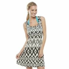 Portocruz Geometric Cover-Up - Women's