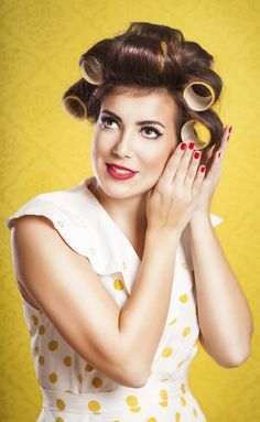 Hair rollers, a rather simple styling tool, can actually be complicated if you don't know the basics steps. Learn how to use them here. | All Things Hair - From hair experts at Unilever