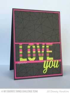 Abstract Background, Love Die-namics, Thank You Die-namics - Jill Dewey Hawkins  #mftstamps