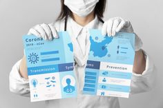 Doctor ripping coronavirus mock-up Free . Poster Background Design, Mockup, Woman Doctor, Templates, Free, Logo, Health, Stencils, Logos