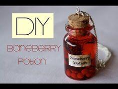 DIY Baneberry Potion(pendant/charm) : Harry Potter Potion by Tony Ellison