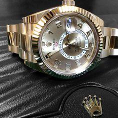 Rolex 326938 Sky-dweller Champagne Arabic Dial Yellow Gold Men's Watch.  Read product info & Customer reviews for 2016 Rolex 326938   100% GENUINE Rolex Box & Warranty Card Factory Stickers 3 Year Warranty with WatchGuyNYC and/or Authorized Dealer  https://www.watchguynyc.com @thewatchguynyc   #watchguynyc #rolex #sky-dweller #skydweller #rolexnew #rolex2016 #rolexgold #rolex326938 #skydweller326938  #sky-dweller326938  #326938 #luxuryliving #platinum#london #china #newyorkcity #rolexero