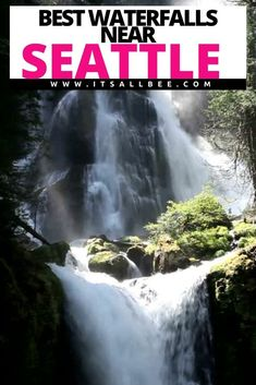 Guide to the best waterfalls near Seattle and other beautiful waterfalls in Washington State. From Snoqualmie Waterfall, Twin Falls, Wallace Falls, Coal Creek Falls & more. #seattlewaterfalls #washington  Waterfalls Near Seattle   Seattle Waterfalls   Waterfalls In Seattle Washington   Hikes Near Seattle Waterfalls   Waterfalls In Seattle   Best Waterfalls In Washington State   Washington Waterfalls Map   Famous Washington State   Waterfalls In Seattle Washington   Best Waterfalls Near… Usa Travel Guide, Travel Usa, Travel Guides, Travel Tips, Travel Advice, Seattle Washington, Washington State, Wallace Falls, Coal Creek
