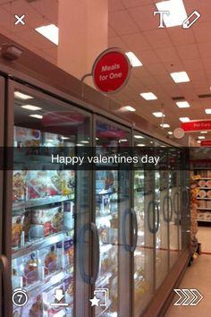 Funny snapchat. Valentines day humor