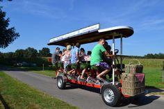 De picknick high tea fiets te huur bij www.groenuit.nu met of zonder hapjes en drankjes