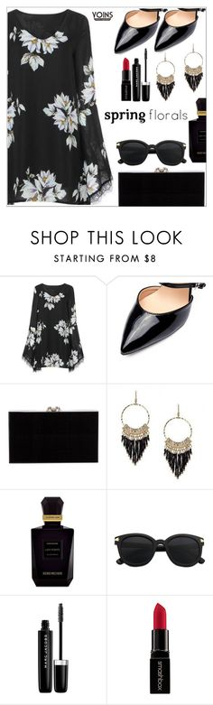 """Yoins"" by simona-altobelli ❤ liked on Polyvore featuring Charlotte Olympia, Keiko Mecheri, Marc Jacobs, Smashbox, yoinscollection and loveyoins"