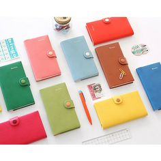 2014 Livework Rainbow color dated diary scheduler - fallindesign