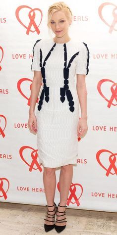 Look of the Day - March 15, 2015 - Jessica Stam from #InStyle