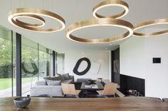 Luxusní rezidence na břehu řeky Leie v Belgii vás okouzlí   Insidecor - Design jako životní styl Beautiful Interior Design, Home Interior Design, Interior Architecture, Tadelakt, Home Trends, Living Room Lighting, Luxury Interior, Home Builders, House Design