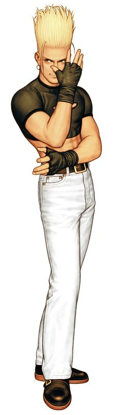 Benimaru Nikaido from King of Fighters 2000