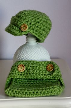 hat & diaper cover - manly enough? @melissa zuber
