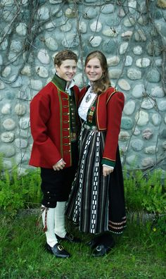 "Norwegian ""Bunad"" - national dress. This model is from the ""Sunnfjord area"""
