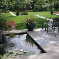 Modern Landscape Pond Design, Pictures, Remodel, Decor and Ideas - page 14