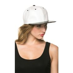 Two Toning Snapback in Black and White 8826a2f792bb