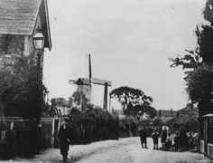 Higher Bebington MIll, Cheshire (long gone) Local History, Family History, Over The River, Old Photos, Liverpool, Places Ive Been, Nostalgia, Windmills, Chester