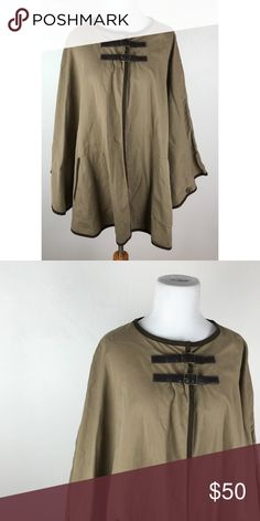 Topshop Buckle Poncho Great condition! US 8. Topshop Jackets & Coats