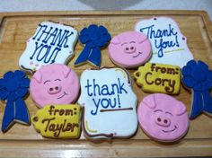 thank you cookie for county | Pin it Like Image