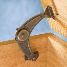 Keep your cedar chest lid from slamming shut with this lid support hardware. Although these lid supports will not replace the need for hinges they help the lowering action stay smooth, gentle and controlled.