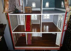 Magnificent Cambridge Mansion Dollhouse. by CreativeCreatives13