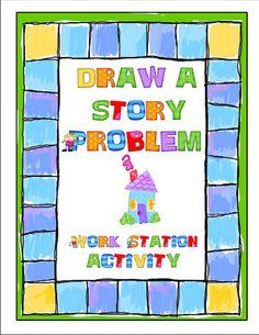 free Draw a Story Problem