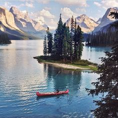 Spirit Island Canada , have visited , so beautiful!