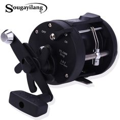 Cheap sea fishing reel, Buy Quality saltwater baitcasting reel directly from China reels saltwater Suppliers: Sougayilang Trolling Reel Fishing TSSD Black Right Hand Casting Sea Fishing Reel Saltwater Baitcasting Reel Coil