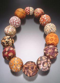 Wonderful big polymer clay beads