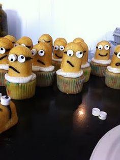 Minion Cupcakes!!!