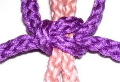 Macramé Basic square knot for butterfly feeder hanger (using jute, a $5 DIY project!)