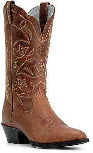 Ariat® Ladies Russet Heritage R-Toe Western Boots--I want these