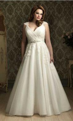 Imagenes de vestidos de novia talla xl