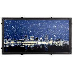 Star Map Skyline, Baltimore, MD