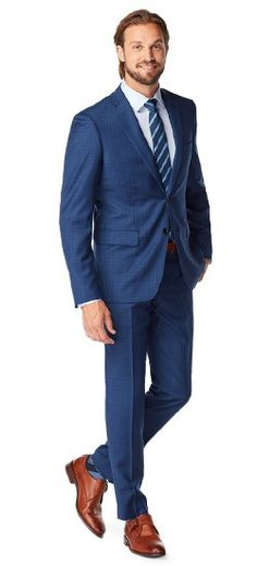Nearly imperceptible to the eye, this suit's plaid patterning serves to emphasize its unique texture through an interplay of extremely slight changes in weave and shade. Throw in a touch of silk, and you've got a fabric that's truly unique. #Indochino #IndochinoApparel #IndochinoWeddings