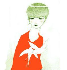 Miren illustration by David de las Heras Shared today on my blog.