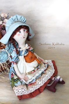 Жили были куклы веселушки Светланы Кулибабы : Лето красное пропела ...
