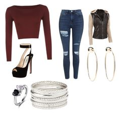 """""""Untitled #19"""" by hellokitty379921 on Polyvore featuring Prada, WearAll, Topshop, Bebe and Charlotte Russe"""