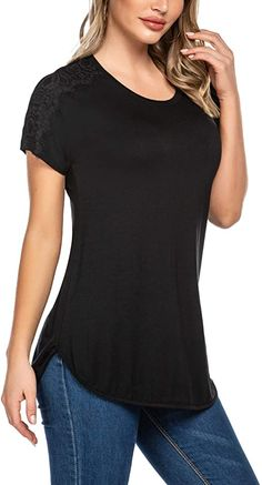 One promise Fashion Women Ruched Ruffle Hem Linen Pocket Blouse V-Neck Casual Solid Tank Top
