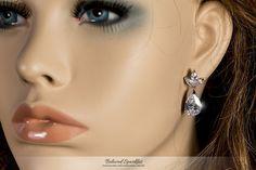 MAVIS PEAR DROP MARQUISE CLUSTER DANGLE EARRINGS | 6 Carat | Cubic Zirconia