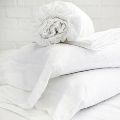 """""""White Cotton Sheet Sets 