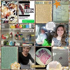 2016 Week 38 R | The Lilypad from Stacia using the Now & Then Collab Bundle from Little Butterfly Wings and Etc by Danyale; Project Temps no 2 by Amanda Yi; Font: Andes